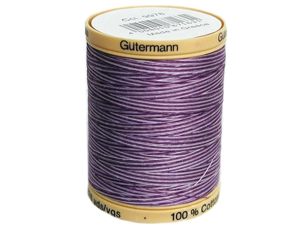 GUTERMANN Col.9978 Cotton 800m PURPLE PASSION VAR.
