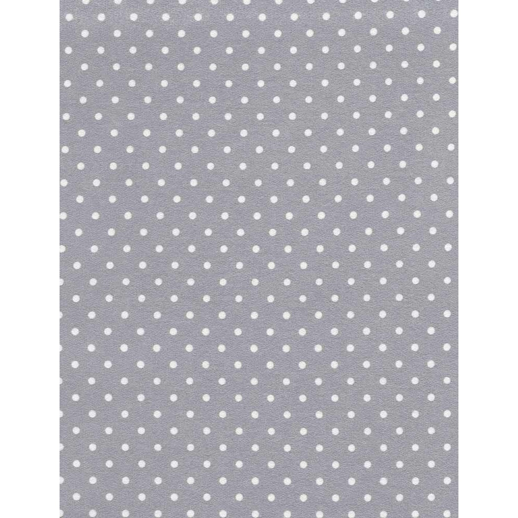 TIMELESS TREASURES Snow Day, Flannel, Polka Dot, Grey per cm or $20/m