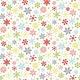 MAKOWER JOY - Snowflakes - white, per cm or $20/m