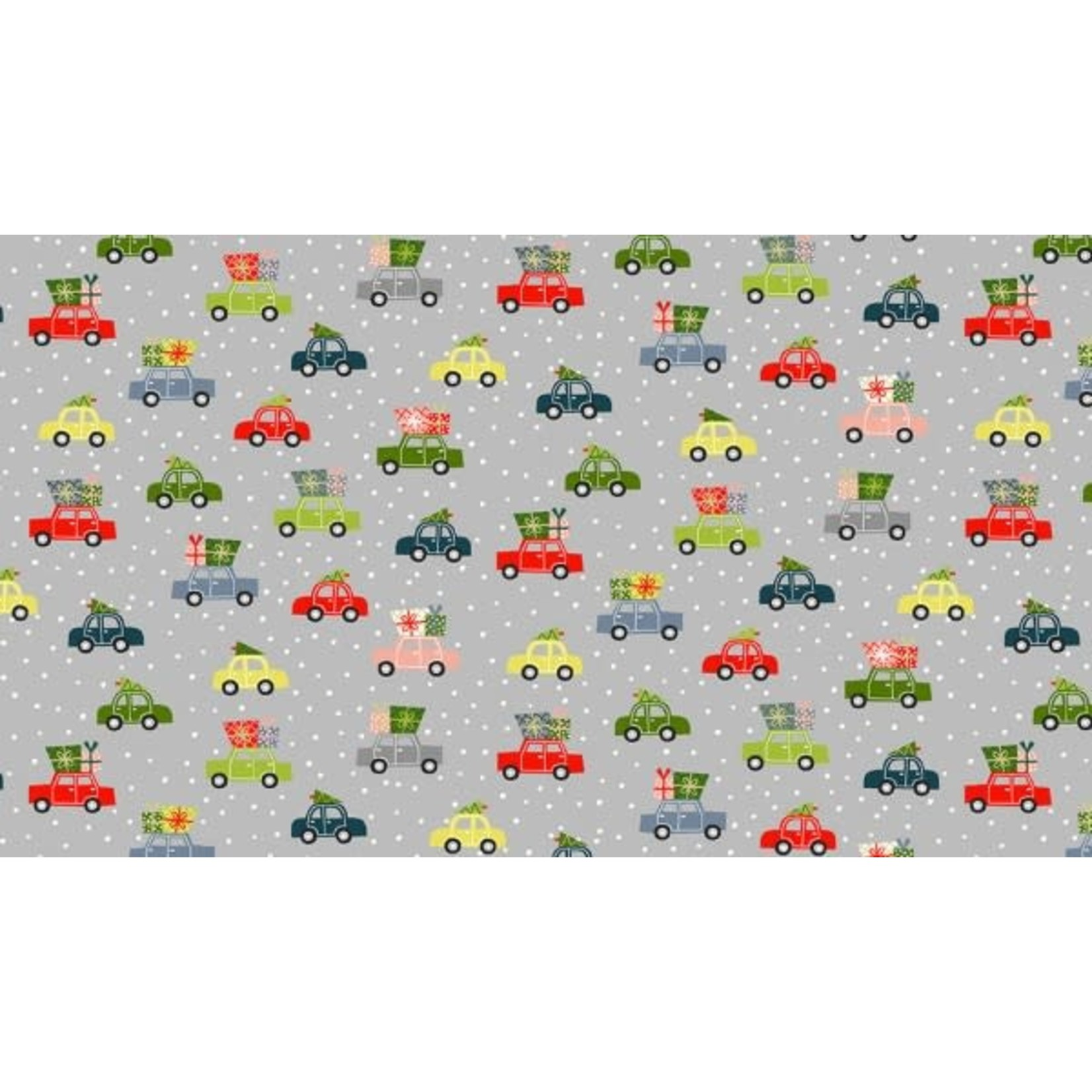 MAKOWER JOY - Cars - Grey, per cm or $20/m