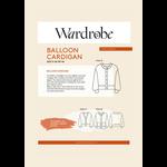 Wardrobe by Me Balloon Cardigan Pattern 0-24 (30-54)