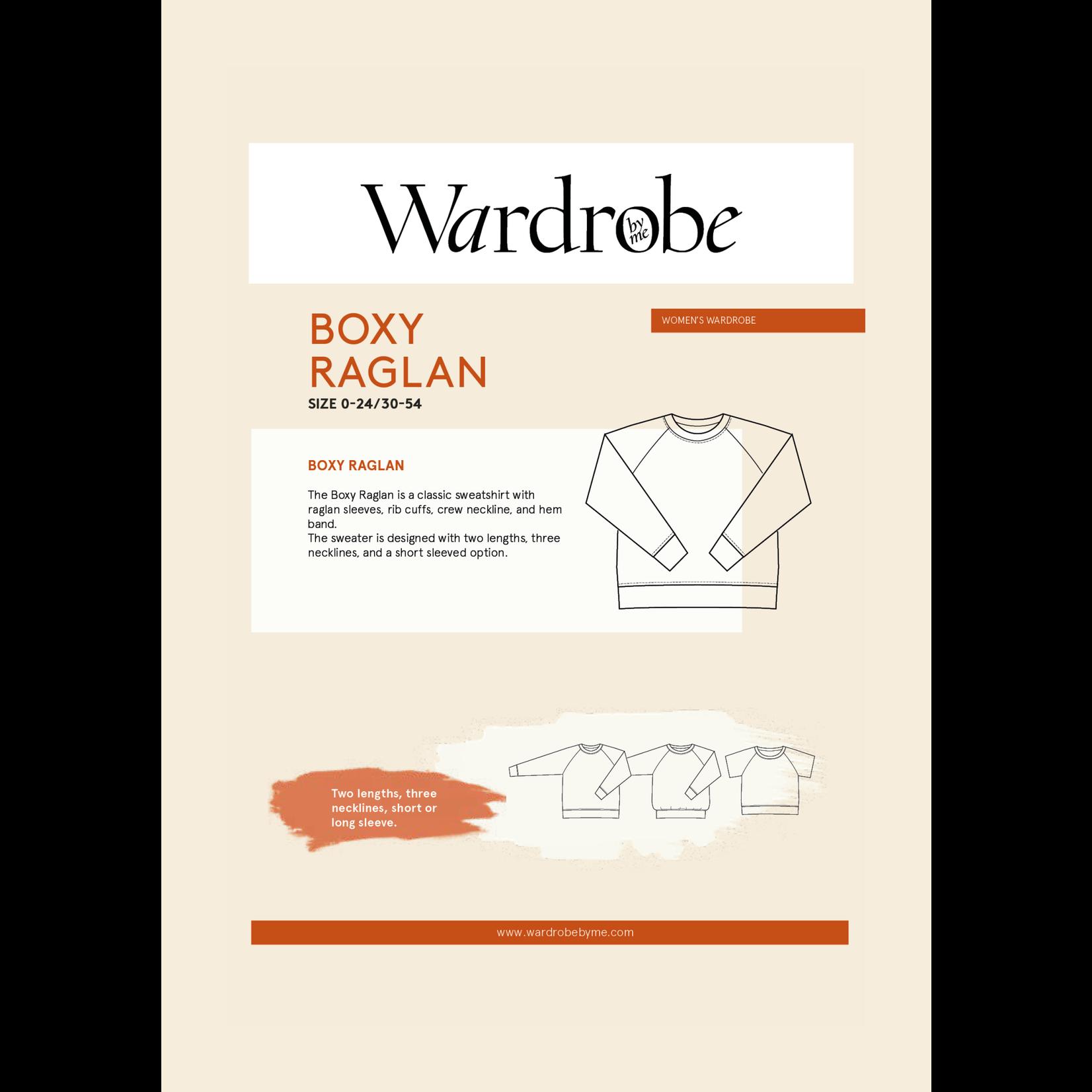 Wardrobe by Me Boxy Raglan Pattern 0-24 (30-54)