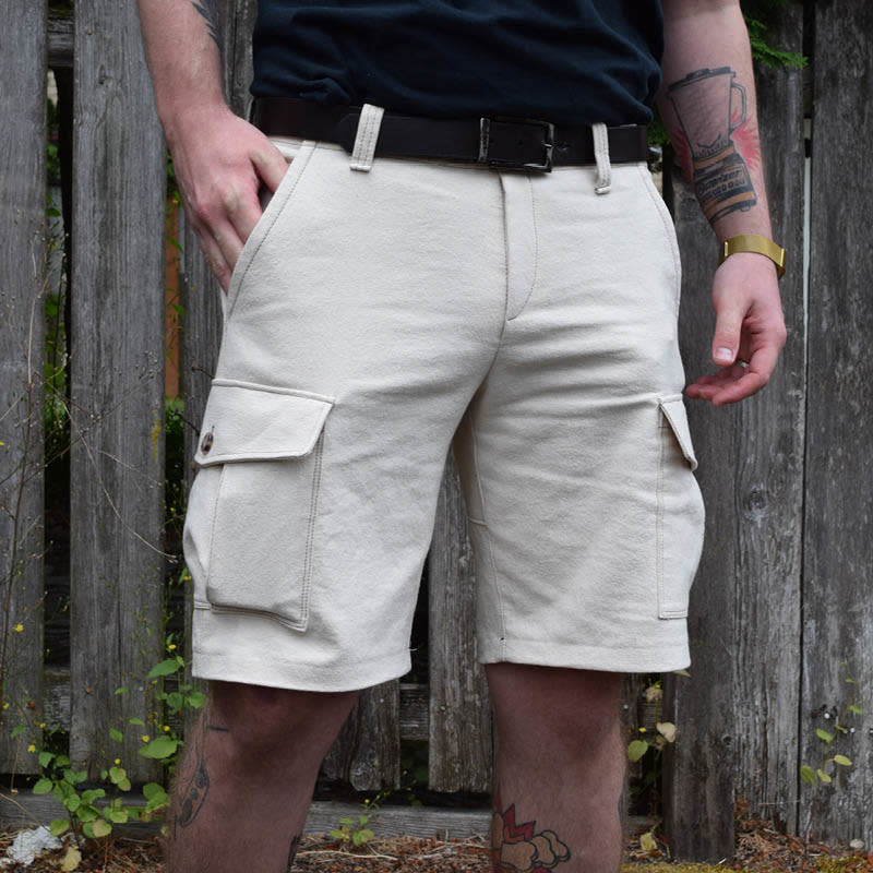 "Wardrobe by Me Cargo Shorts Pattern 27"" - 36"""