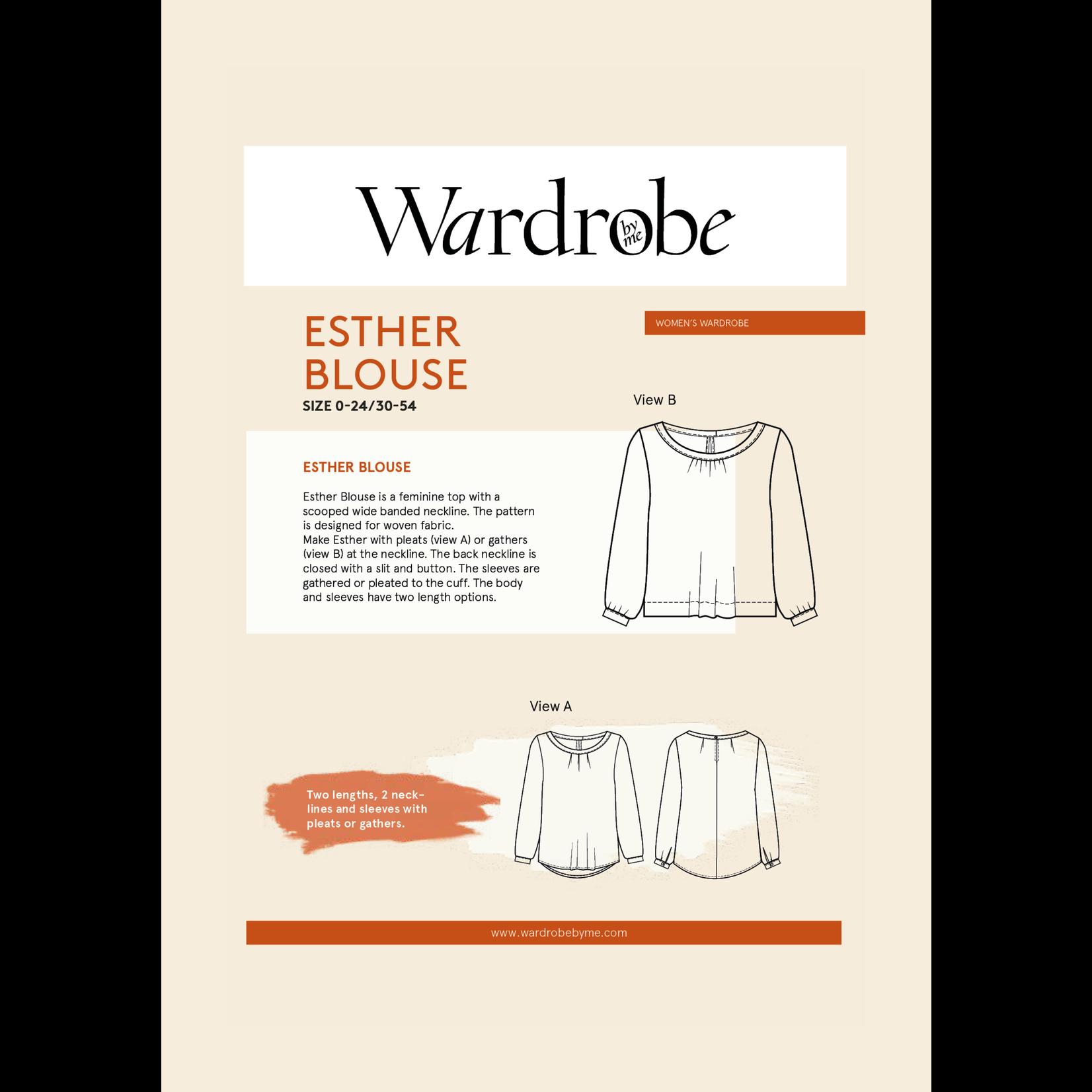 Wardrobe by Me Esther Blouse Pattern 0-24 (30-54)