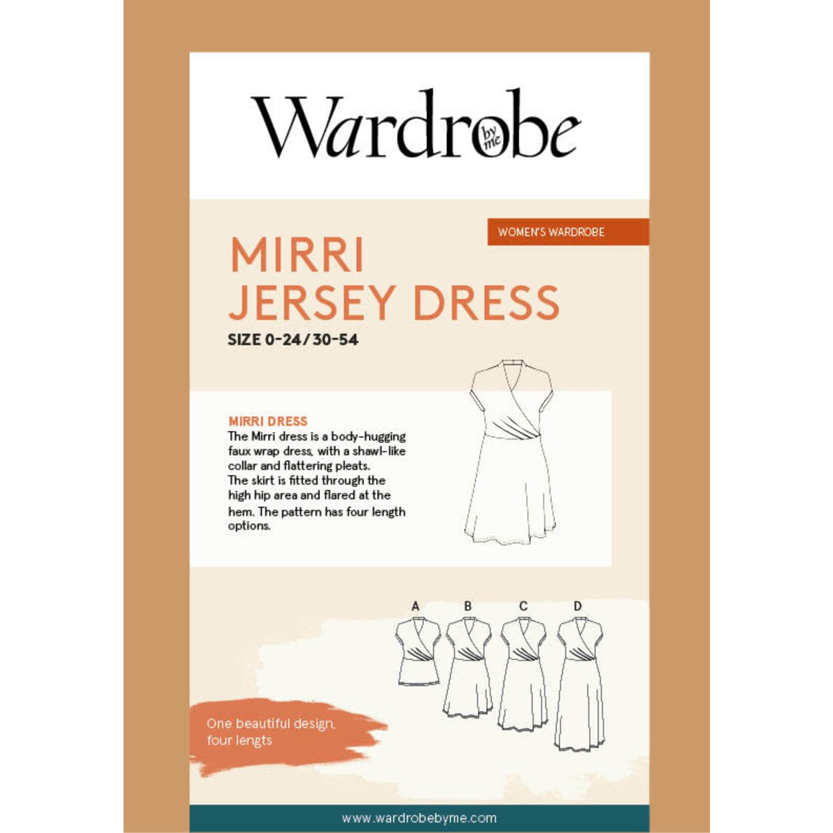 Wardrobe by Me Mirri Jersey Dress Pattern 0-24 (30-54)