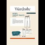 Wardrobe by Me Rebel Sweat Pants Pattern 2XS-3XL