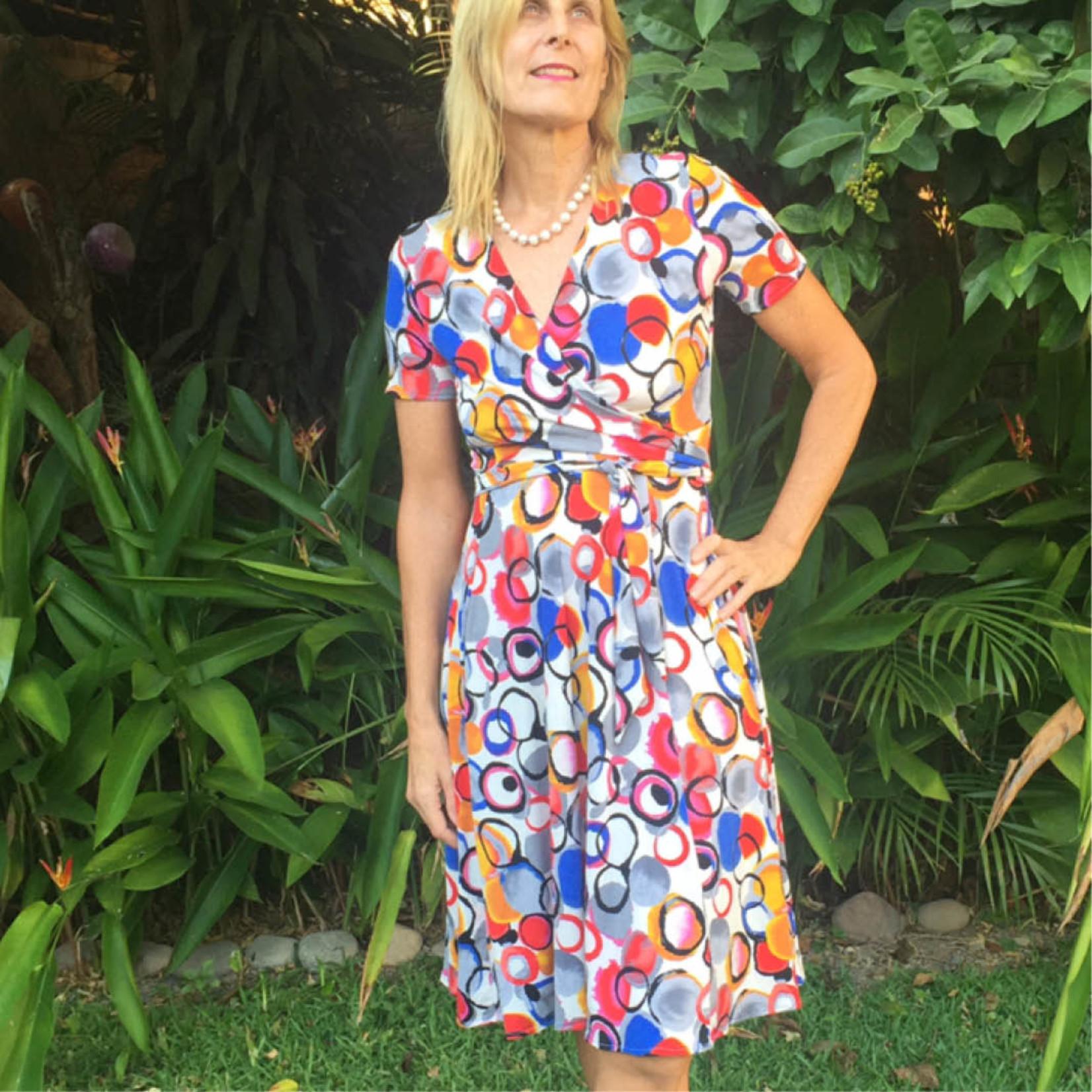 Wardrobe by Me Wanda Wrap Dress Pattern 0-24 (30-54)