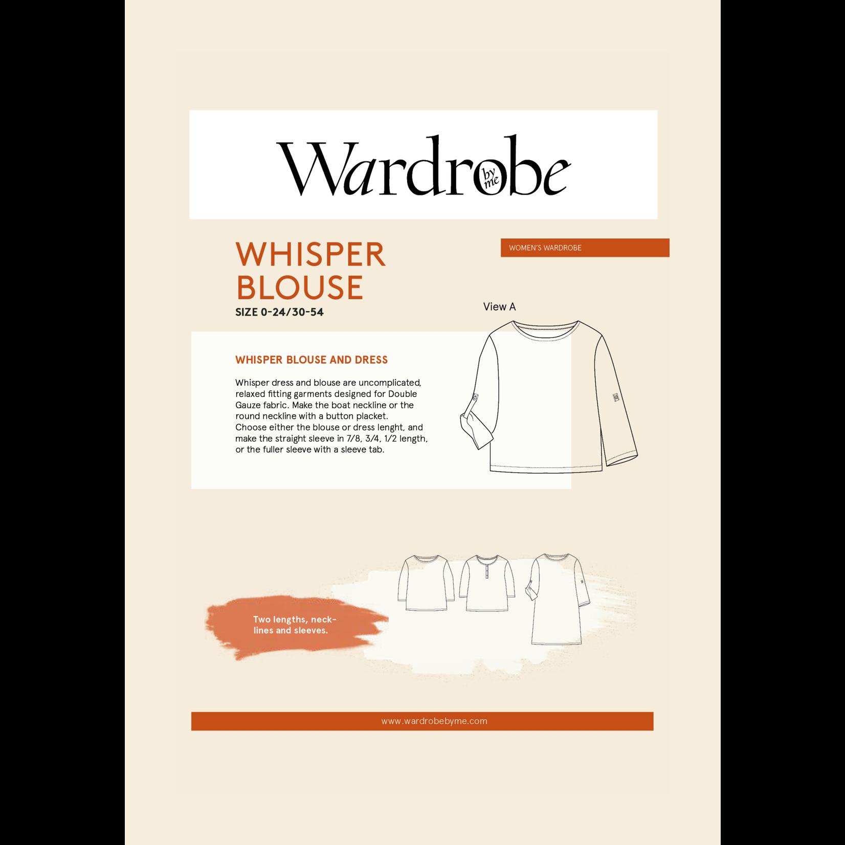 Wardrobe by Me Whisper Blouse Pattern 0-24 (30-54)