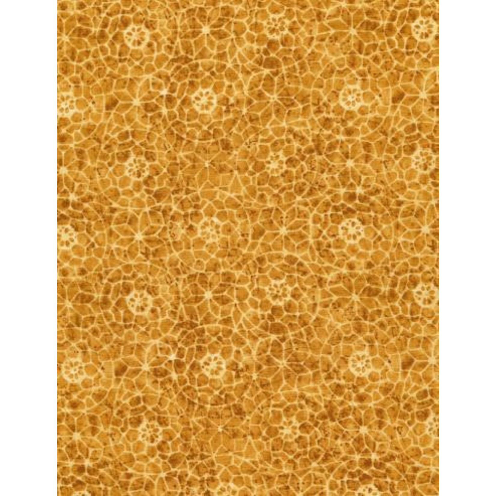 TIMELESS TREASURES TAPESTRY, Gold, PER CM OR $20/M