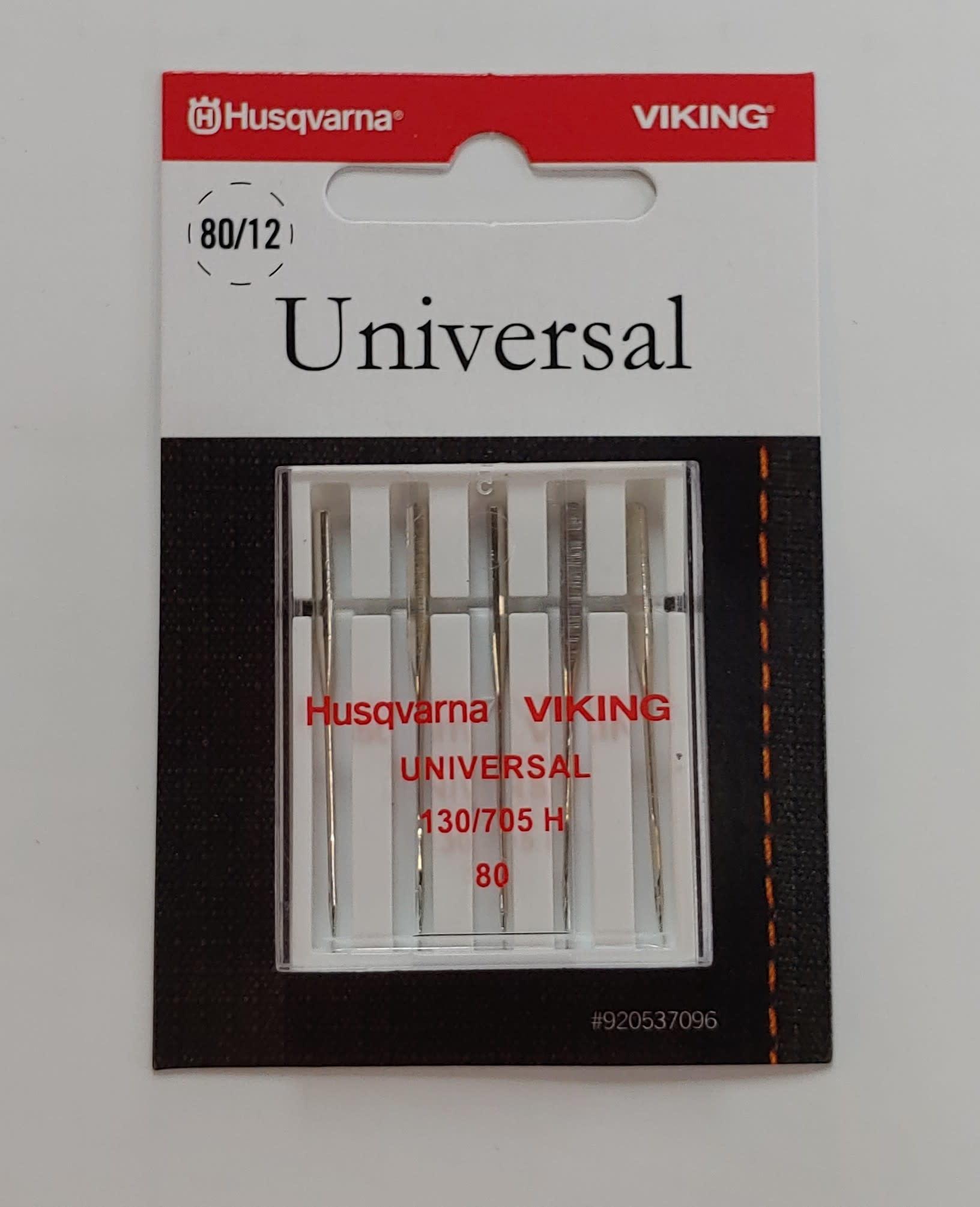 HUSQVARNA VIKING Husqvarna UNIVERSAL NEEDLES 80/12 130/705H 5 pack
