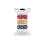 KIMBERBELL TWINE SET - RED, TAN & BLACK