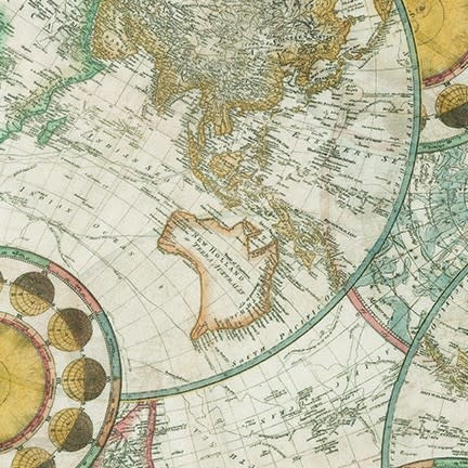 ROBERT KAUFMAN Library of Rarities, Antique Maps, per cm or $20/m