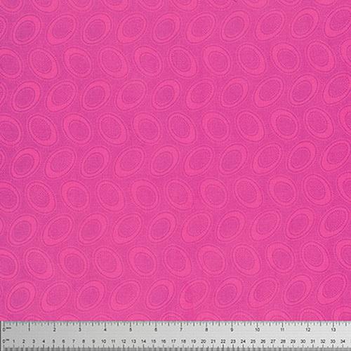 KAFFE FASSETT Aboriginal Dot - Shocking Pink,  per cm $18/m