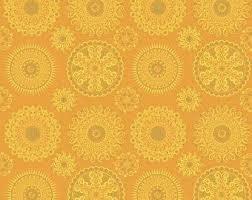 Blank Quilting Corp Celestial Sol - Mandalas, Yellow PER CM OR $10/M