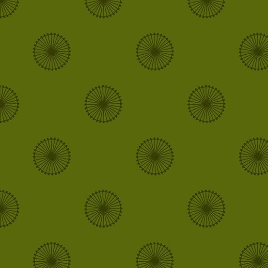 ANDOVER QUANTUM GREEN CIRCLES PER CM OR $19/M