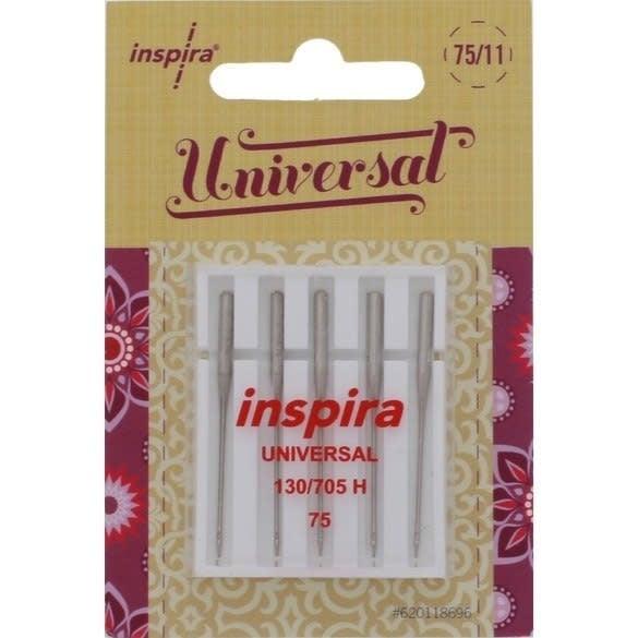 INSPIRA INSPIRA UNIVERSAL NEEDLES 75/11 130/705H 5 pack