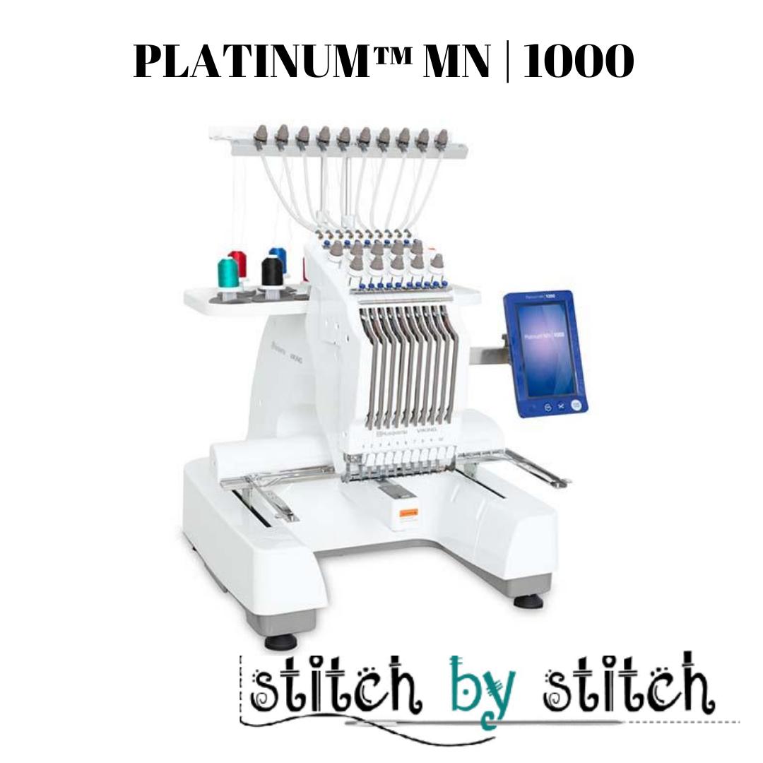 HUSQVARNA VIKING PLATINUM™ MN 1000 and Stand