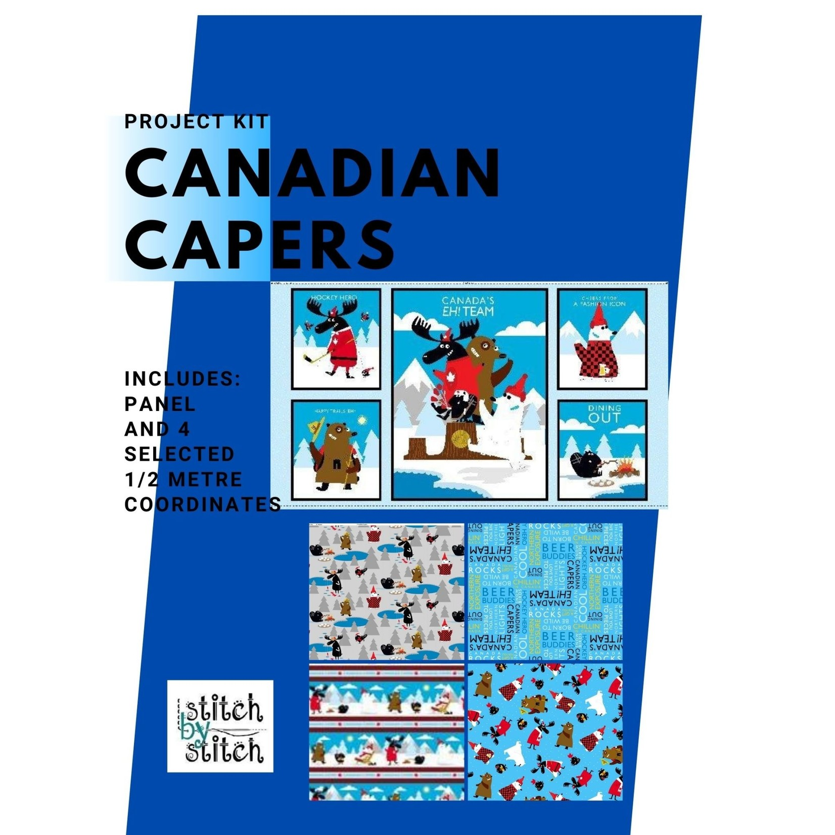 Wilmington Prints CANADIAN CAPERS PANEL KIT