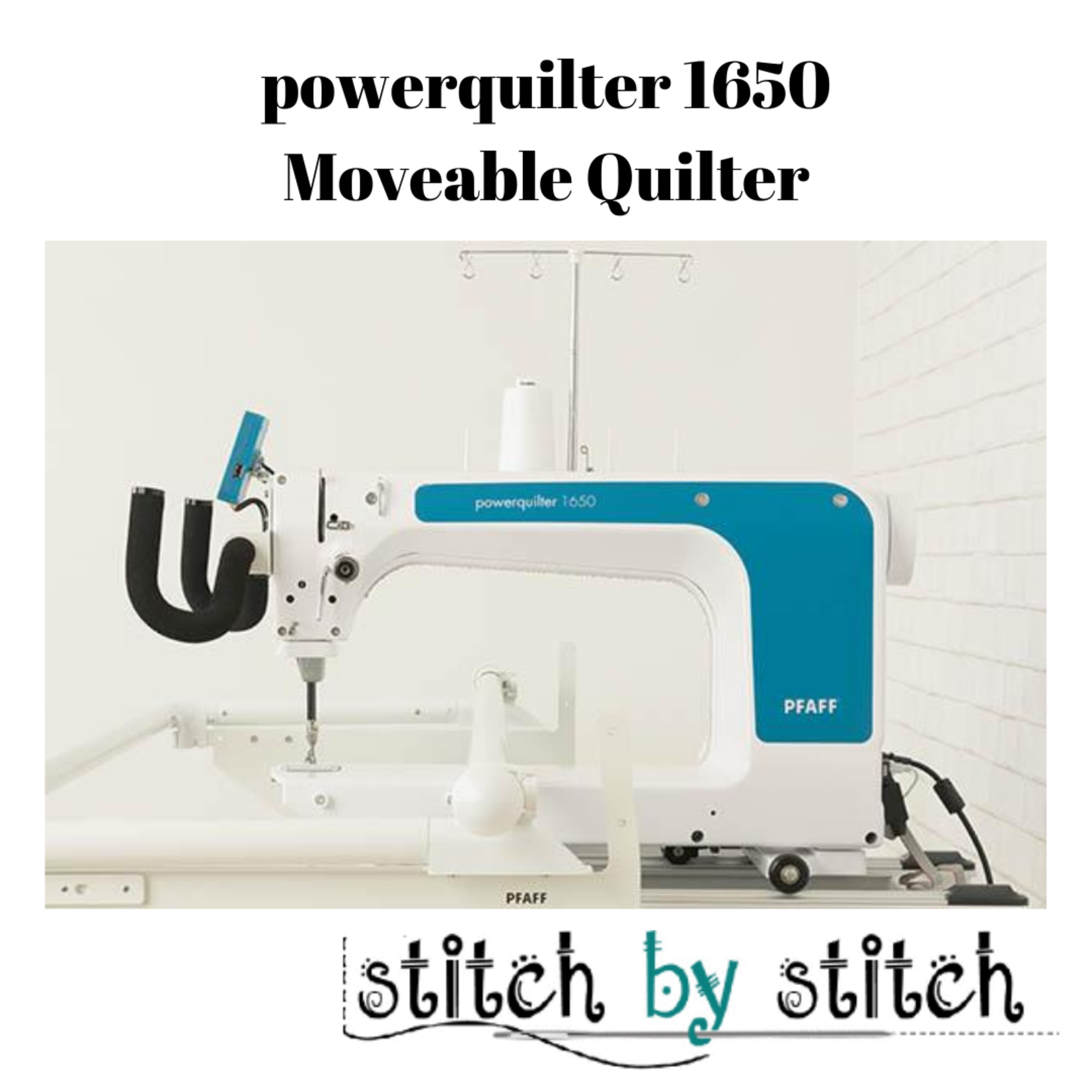 Pfaff powerquilter™ 1650 Long-Arm Quilter