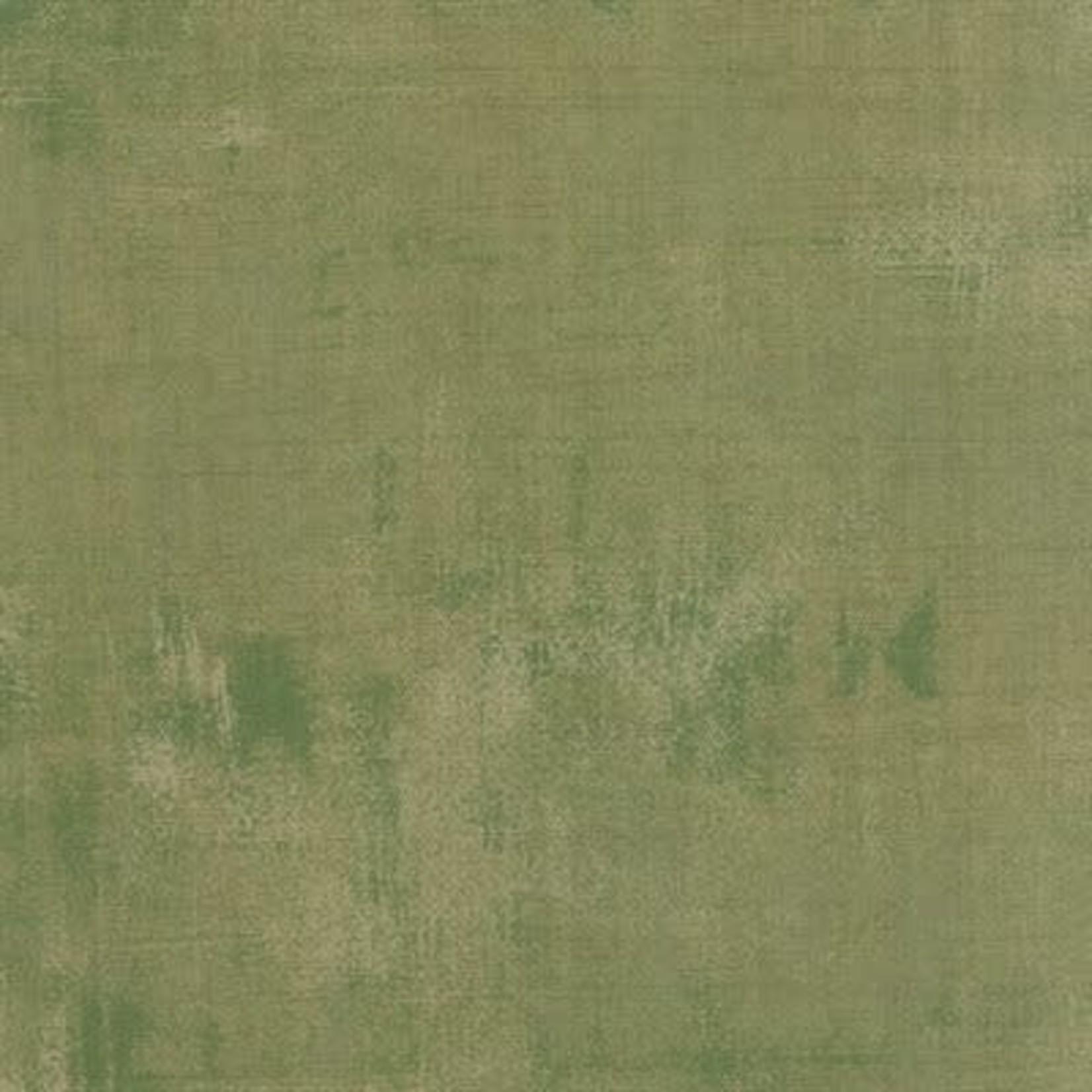 Moda Grunge Basics Grunge - Vert per cm or $20/m