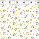 Clothworks Just What I Wanted, Stars on White