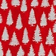 ROBERT KAUFMAN WINTER'S GRANDEUR 8, TREES, SCARLET $0.20 /CM OR $20/M
