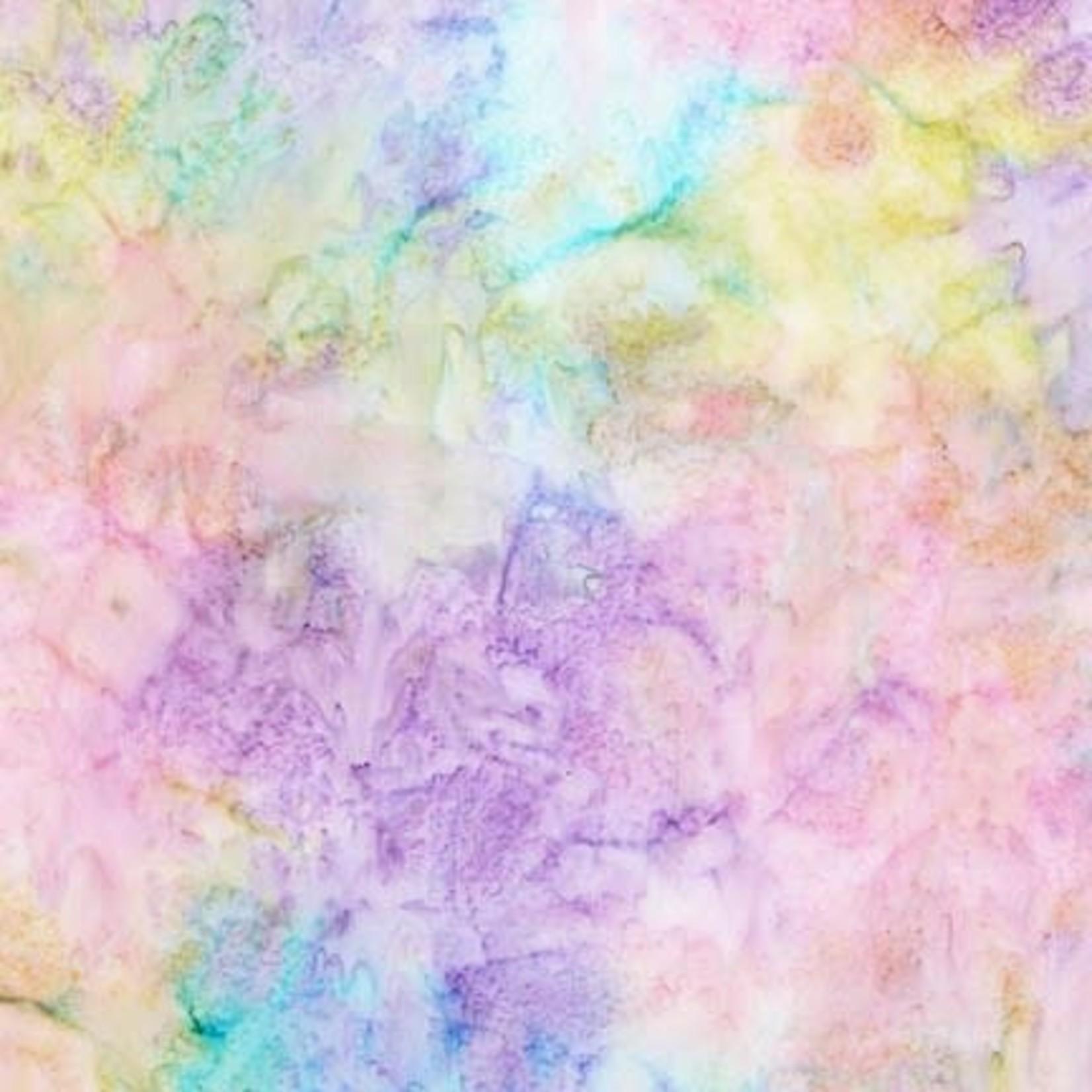 ROBERT KAUFMAN ARTISANS BATIKS, PATINA HAND PAINTS, LUPINE Per Cm or $20/m