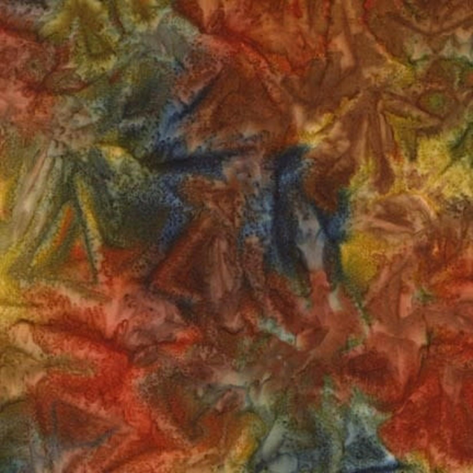 ROBERT KAUFMAN ARTISANS BATIKS, PATINA HAND PAINTS, MEADOW Per Cm or $20/m