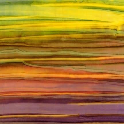 ROBERT KAUFMAN ARTISANS BATIKS, PATINA HAND PAINTS, ADVENTURE Per Cm or $20/m
