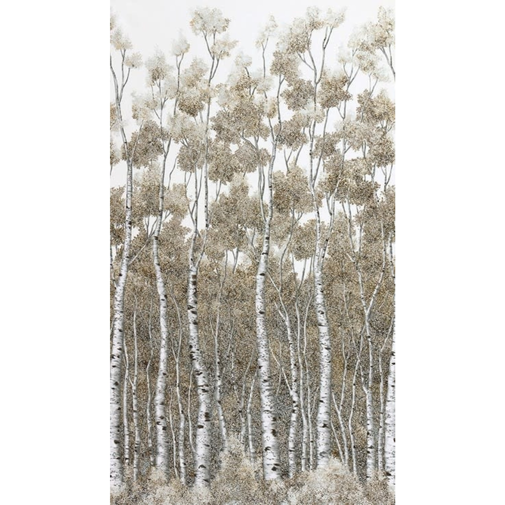 ROBERT KAUFMAN WILDWOOD GRACE, SILVER BIRCHES (19322-186) $0.20/CM OR $20/M