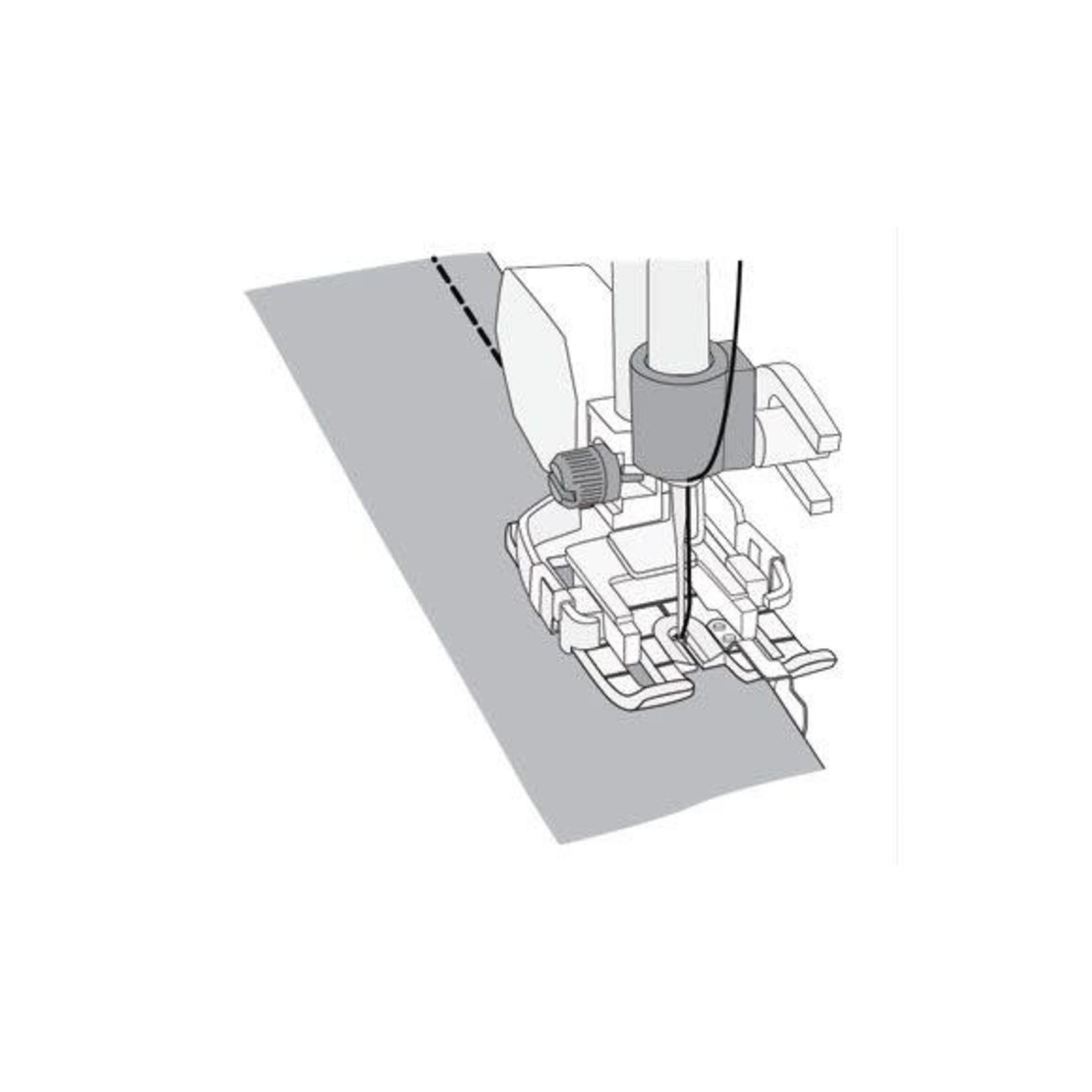 "Husqvarna Viking CHANGEABLE 1/4"" DECO GUIDE FOOT (steel)  TW"