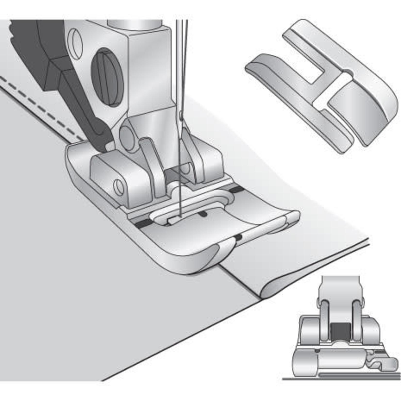 PFAFF BI-LEVEL TOPSTITCH FOOT FOR IDT PFAFF DEGJKL (Left)