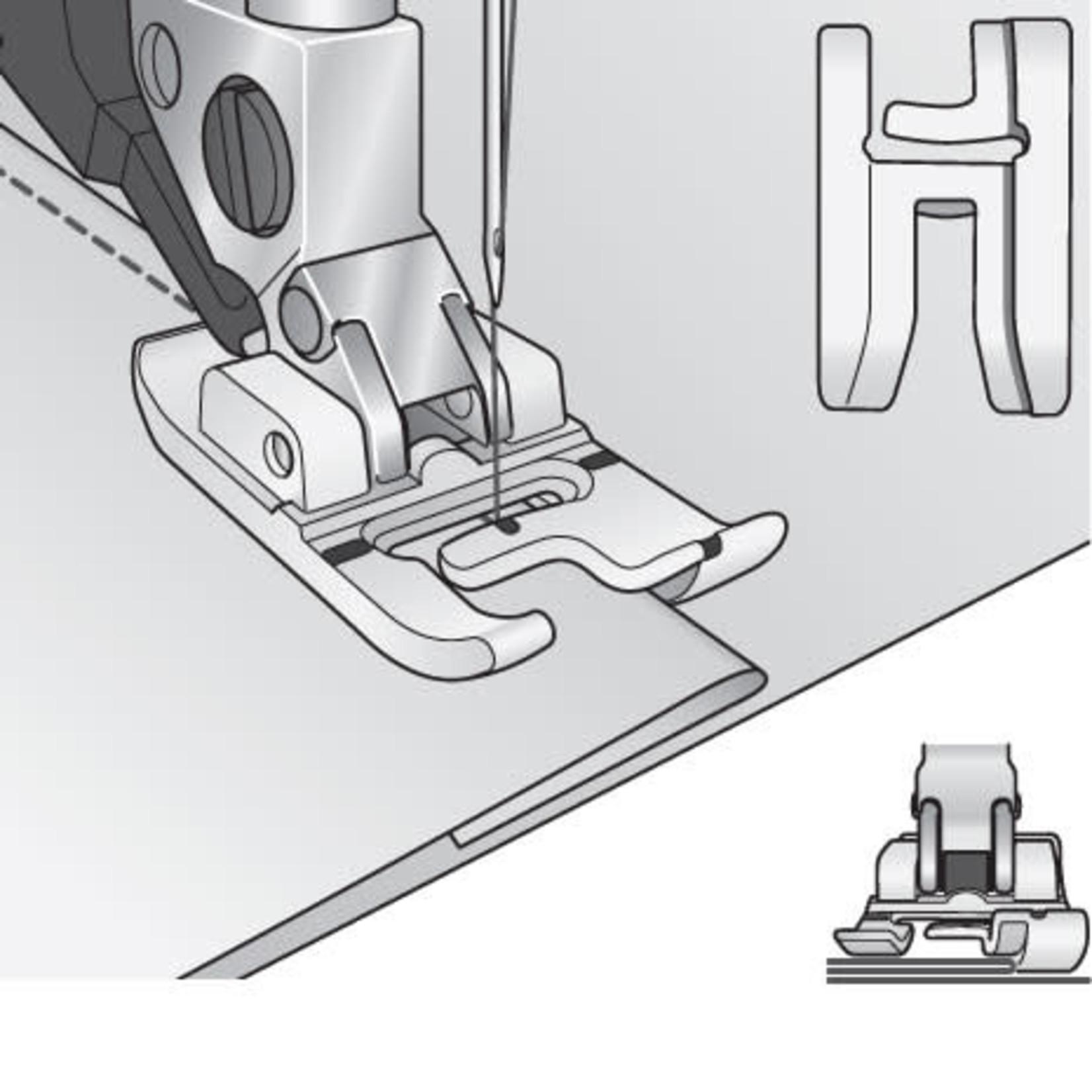 Pfaff Right Edge Bi-level Foot for IDT (D, E, G, J, K)