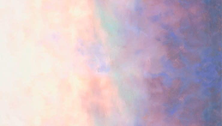 ROBERT KAUFMAN Sky by Jennifer Sampou, Ombre, Opal, per cm or $18/m
