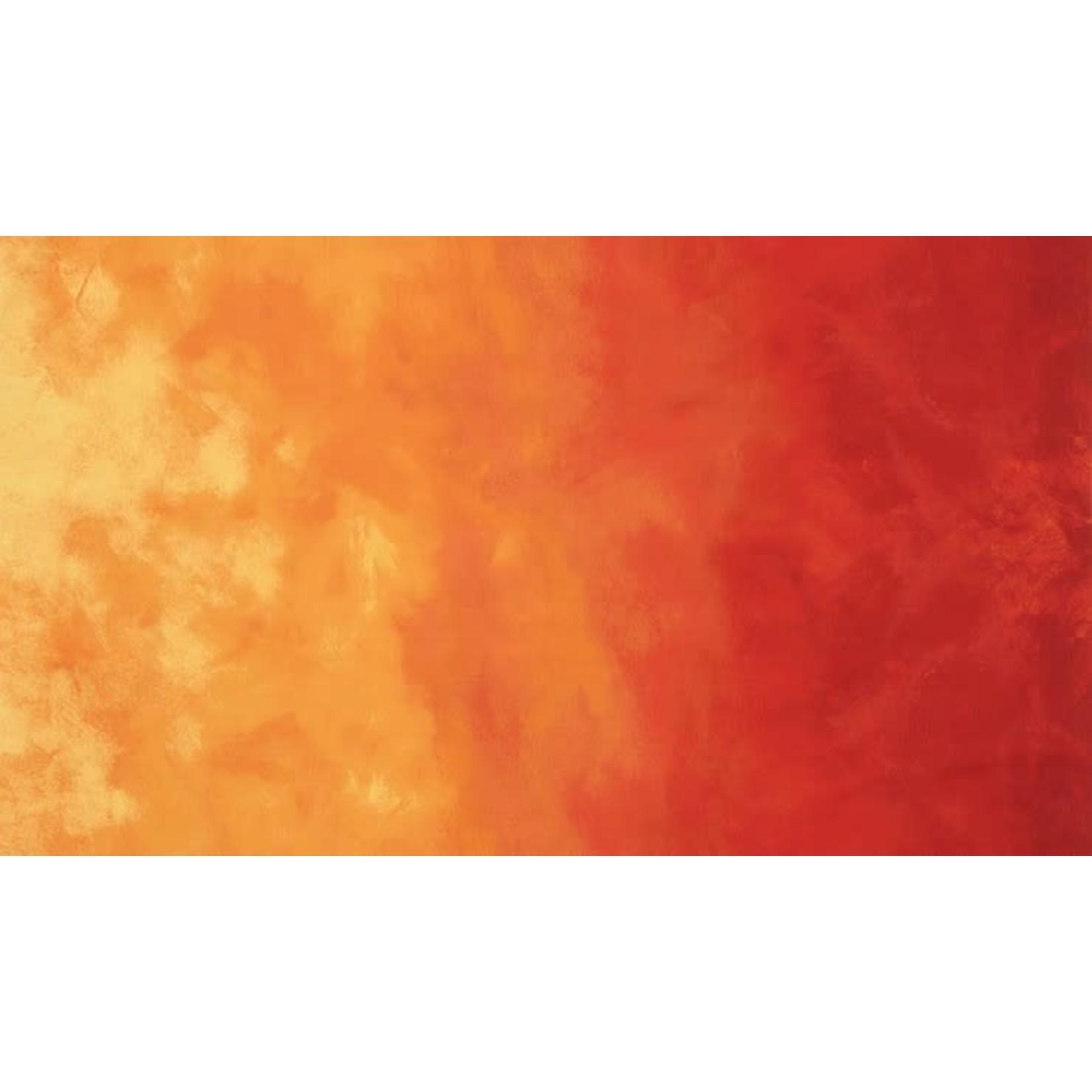 Robert Kaufman Sky by Jennifer Sampou, Ombre, Ember, per cm or $18/m
