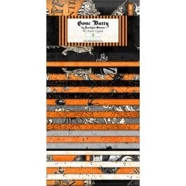 WILMINGTON PRINTS Gone Batty Jelly Roll Halloween