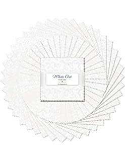 WILMINGTON PRINTS WHITE OUT 5 KARAT MINI-GEMS 24 Pieces