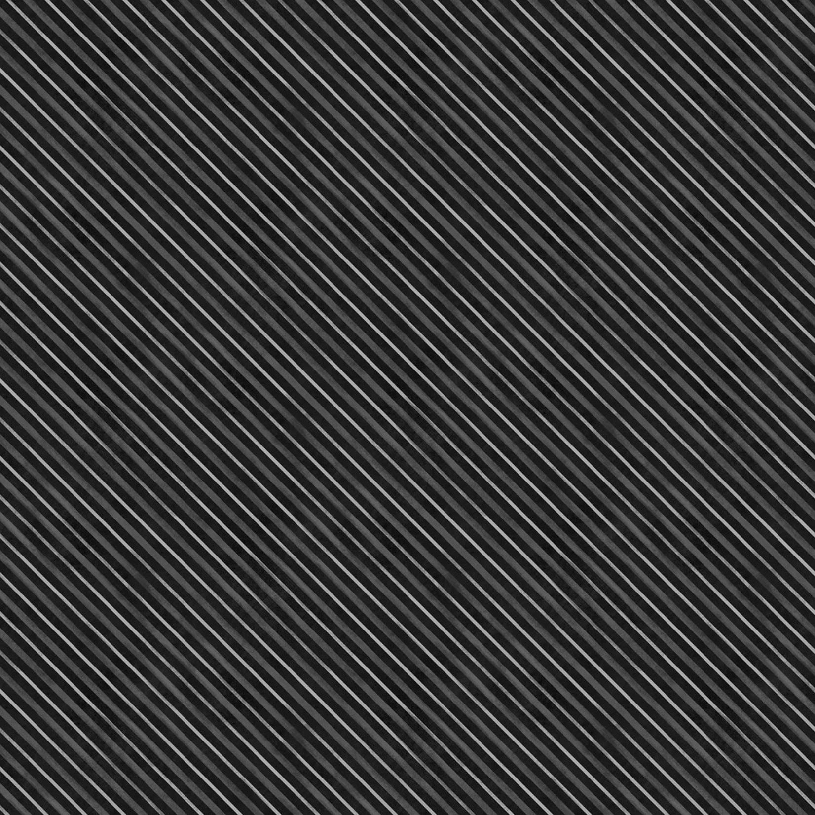 Wilmington Prints HAUNTED NIGHT BLACK STRIPE PER CM OR $20/M