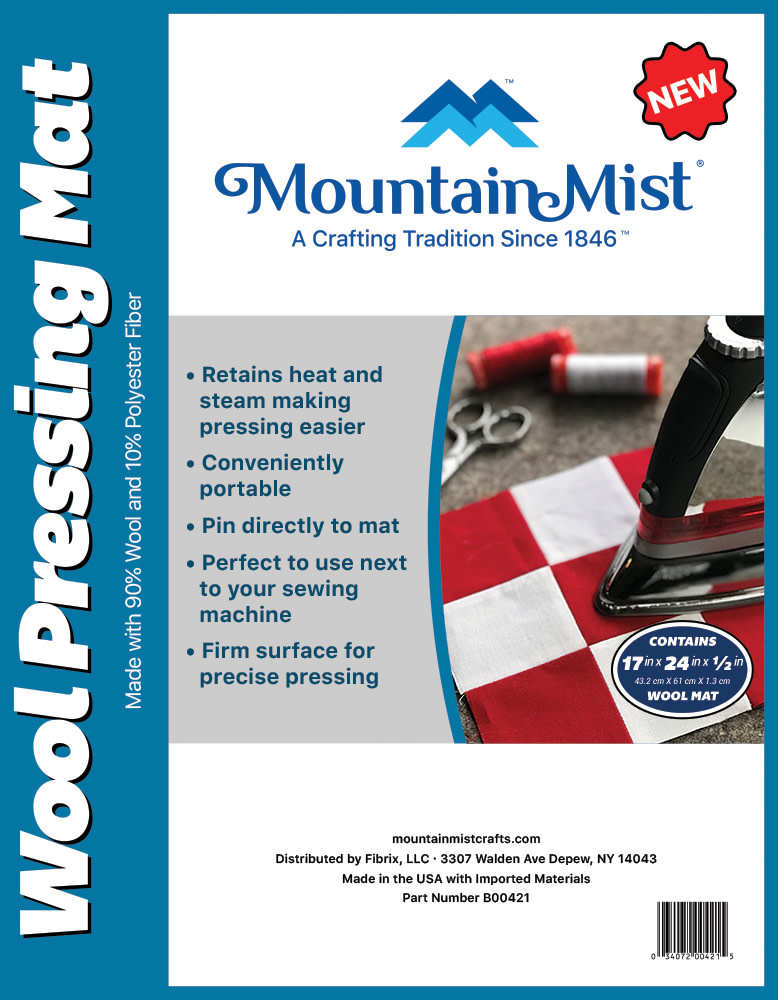 "Mountain Mist Mountain Mist Wool PRESSING MAT 17""x24"""