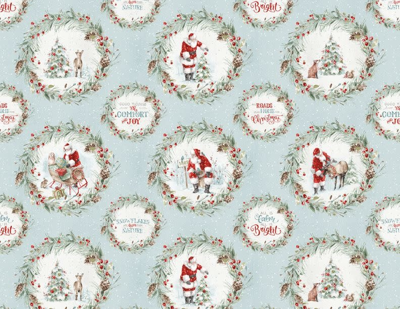 LISA AUDIT A MAGICAL CHRISTMAS, WREATHS (86459-413) $0.20 /CM OR $20/M