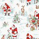 LISA AUDIT A MAGICAL CHRISTMAS, SCENES ON WHITE (86463-137) $0.20 /CM OR $20/M