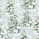 LISA AUDIT A MAGICAL CHRISTMAS, TREES ON BLUE (86463-474) $0.20 /CM OR $20/M