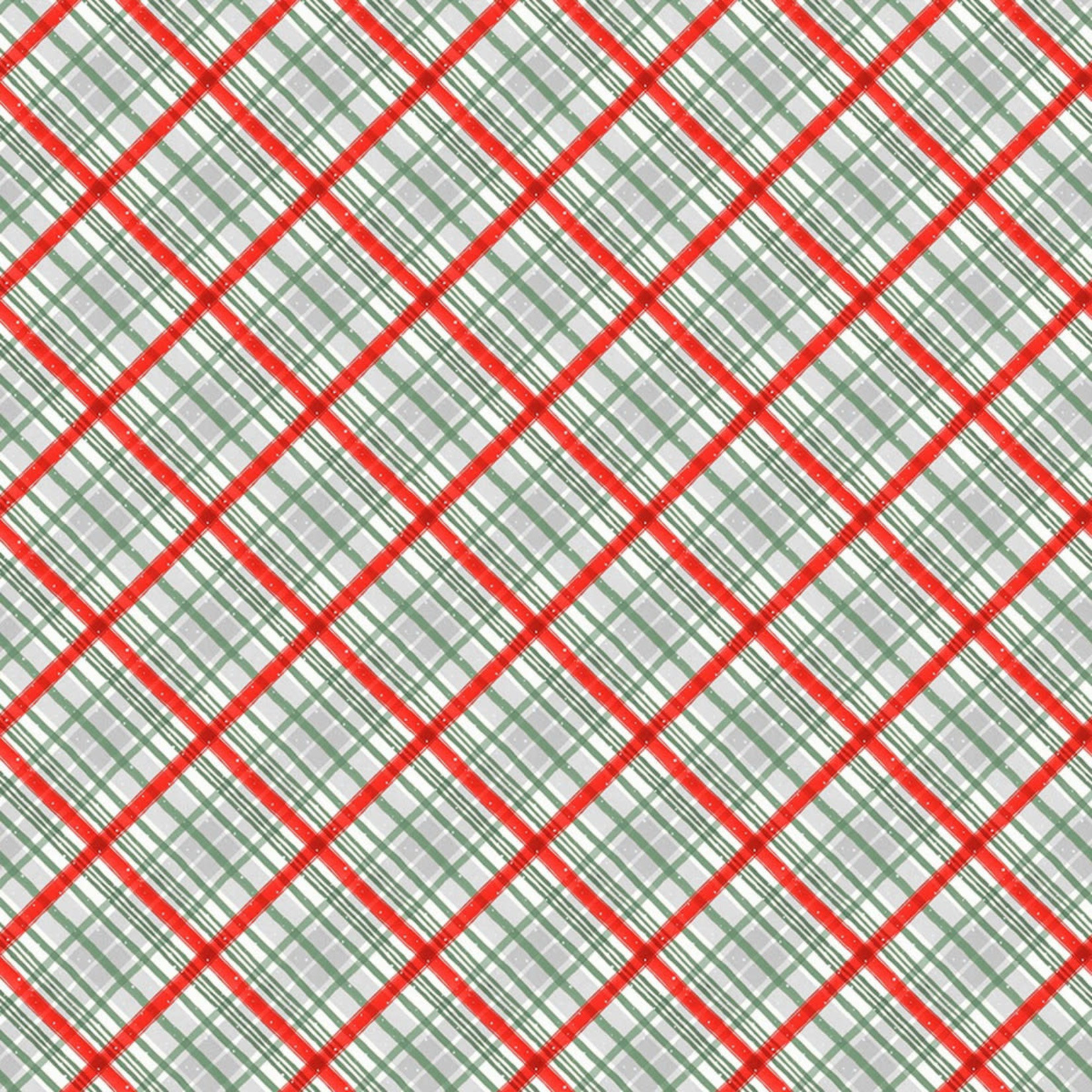 Lisa Audit A MAGICAL CHRISTMAS, PLAID, RED (86467-139) $0.20 /CM OR $20/M