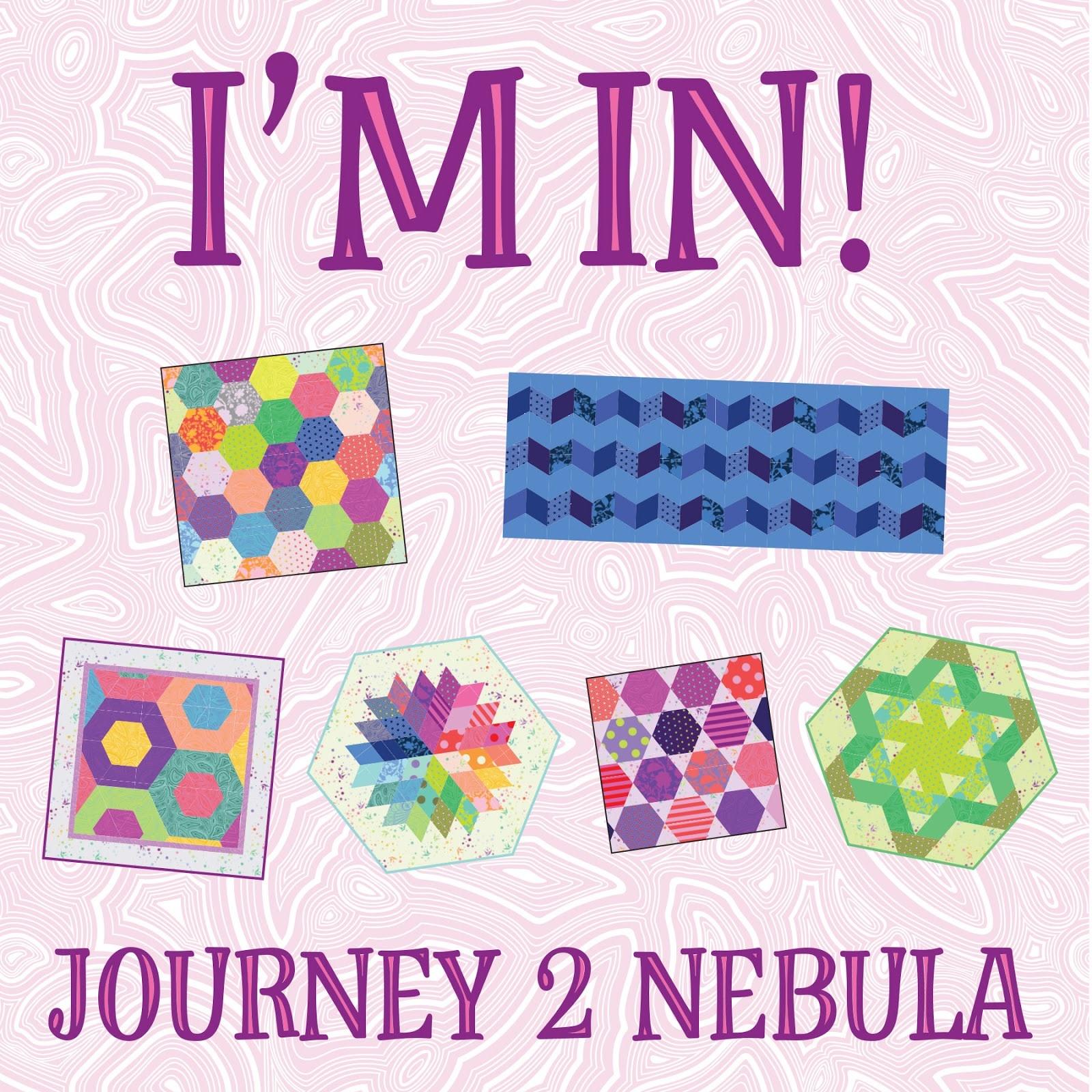 JAYBIRD QUILTS Journey to Nebula Program Kit (Patterns ONLY)
