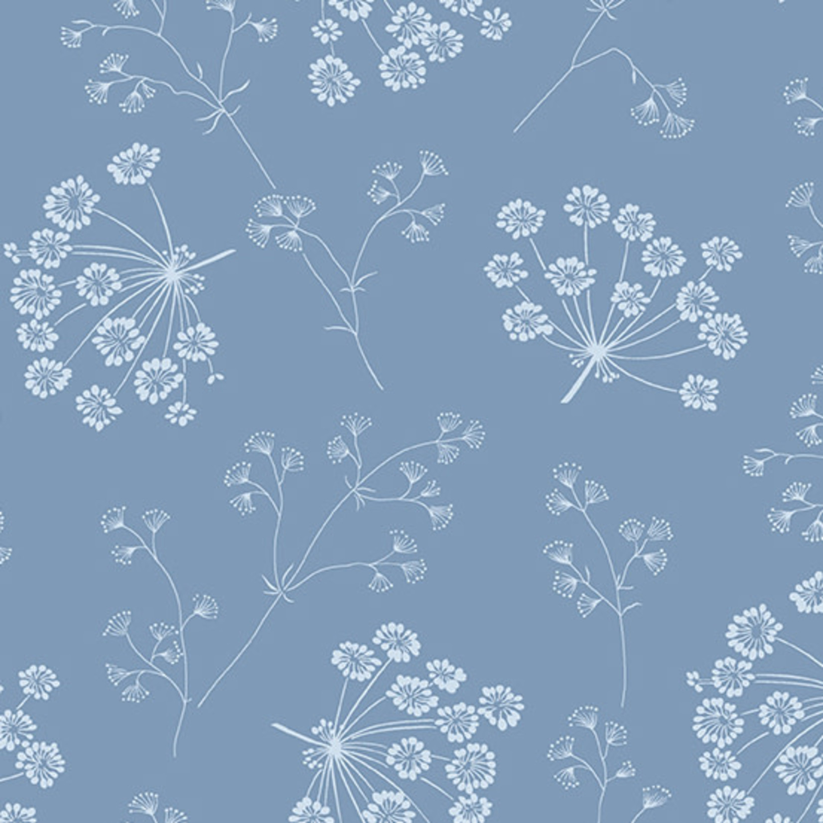 Andover SOLSTICE DRIED FLOWERS, SKY (A-9543-B) PER CM or $20/m