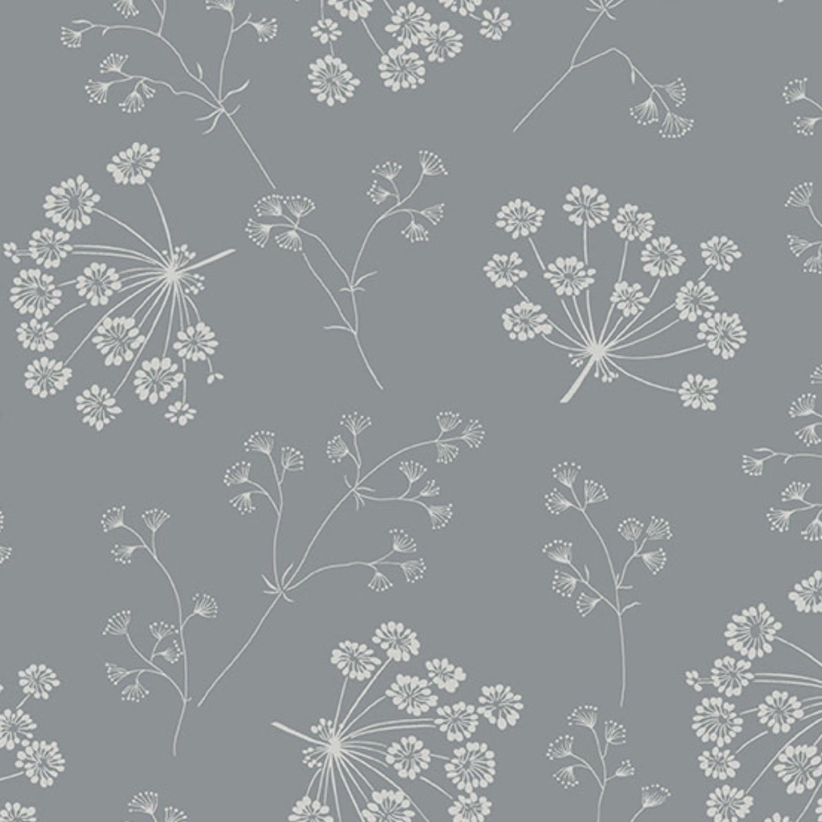 ANDOVER SOLSTICE DRIED FLOWERS, SLATE (A-9543-C) PER CM or $20/m