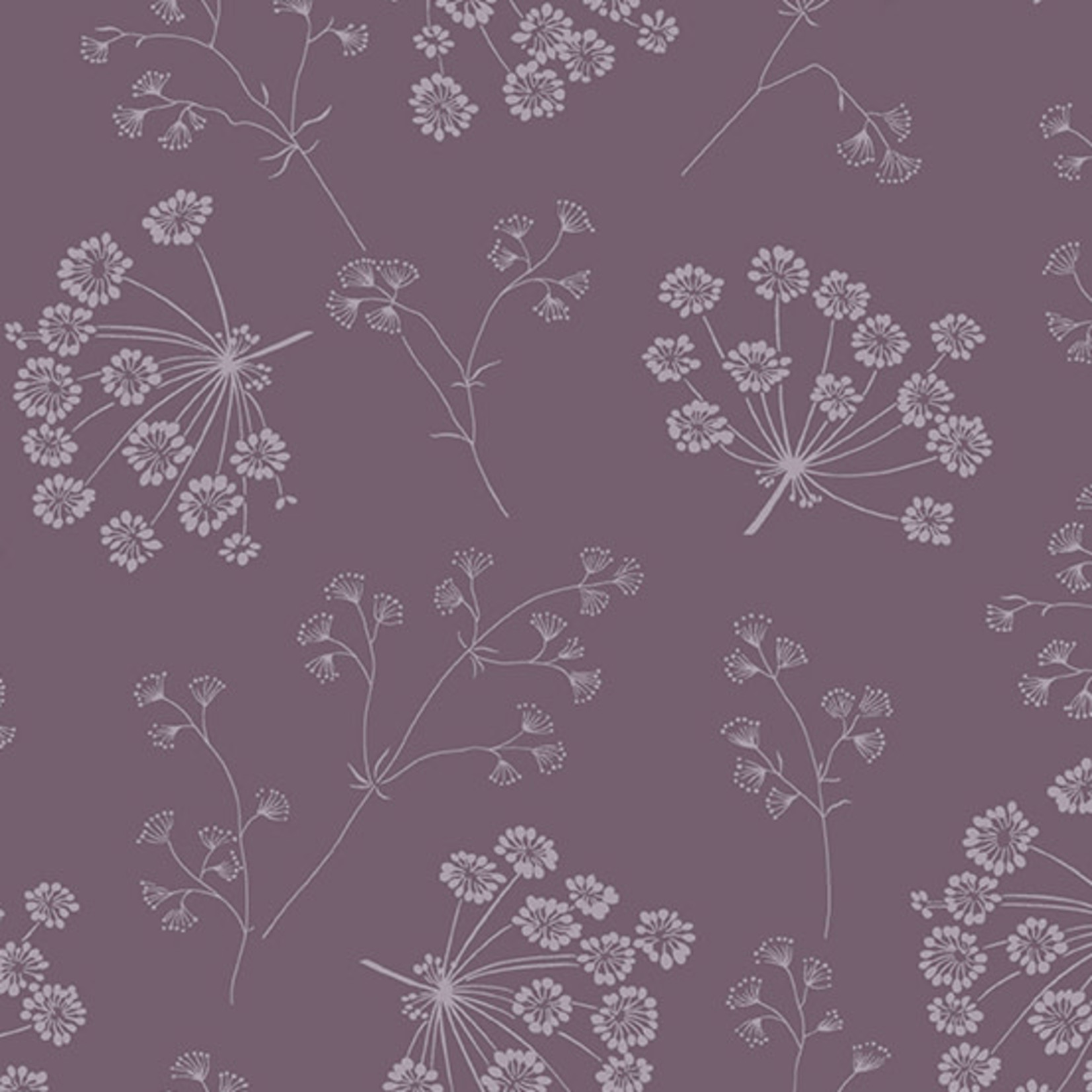 Andover SOLSTICE DRIED FLOWERS, AMETHYST (A-9543-P) PER CM or $20/m