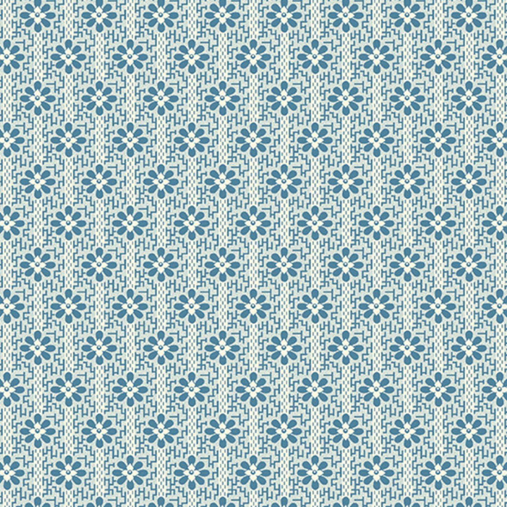 ANDOVER PERFECT UNION, WOVEN, STATE BLUE (A-9588-B) PER CM or $20/m