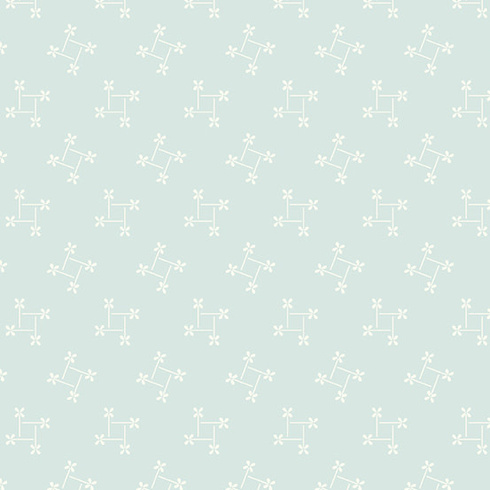 ANDOVER PERFECT UNION, PINWHEEL, SKY (A-9589-BL) PER CM or $20/m