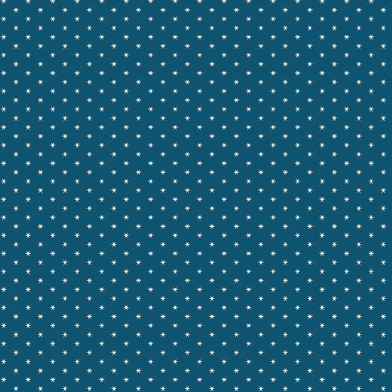 ANDOVER PERFECT UNION, OLD GLORY, NIGHT SKY BLUE(A-9594-B)PER CM or $20/m